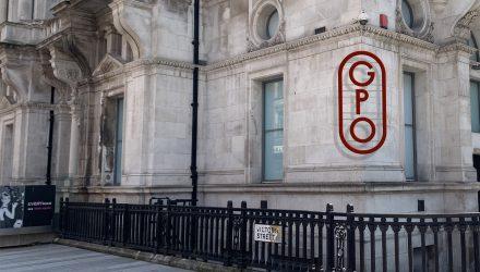 GPO outside banner
